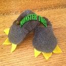 Make your Little Monster Some Slippers!