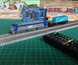 Control Your Model Train Layout With Your TV REMOTE!
