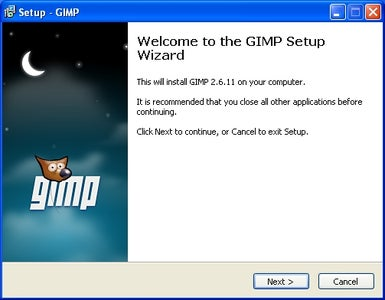 Download and Install Gimp