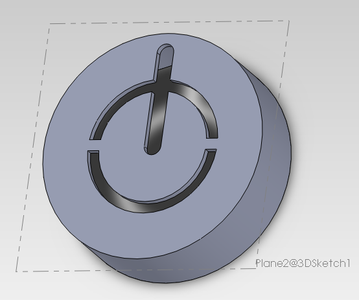 Step 6: Creating the Power Button Symbol