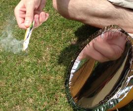 Parabolic Reflector for Solar Cooker