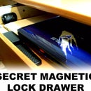 SECRET MAGNETIC LOCK DRAWER