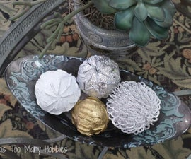 Decorative Globes Using Pull Tabs