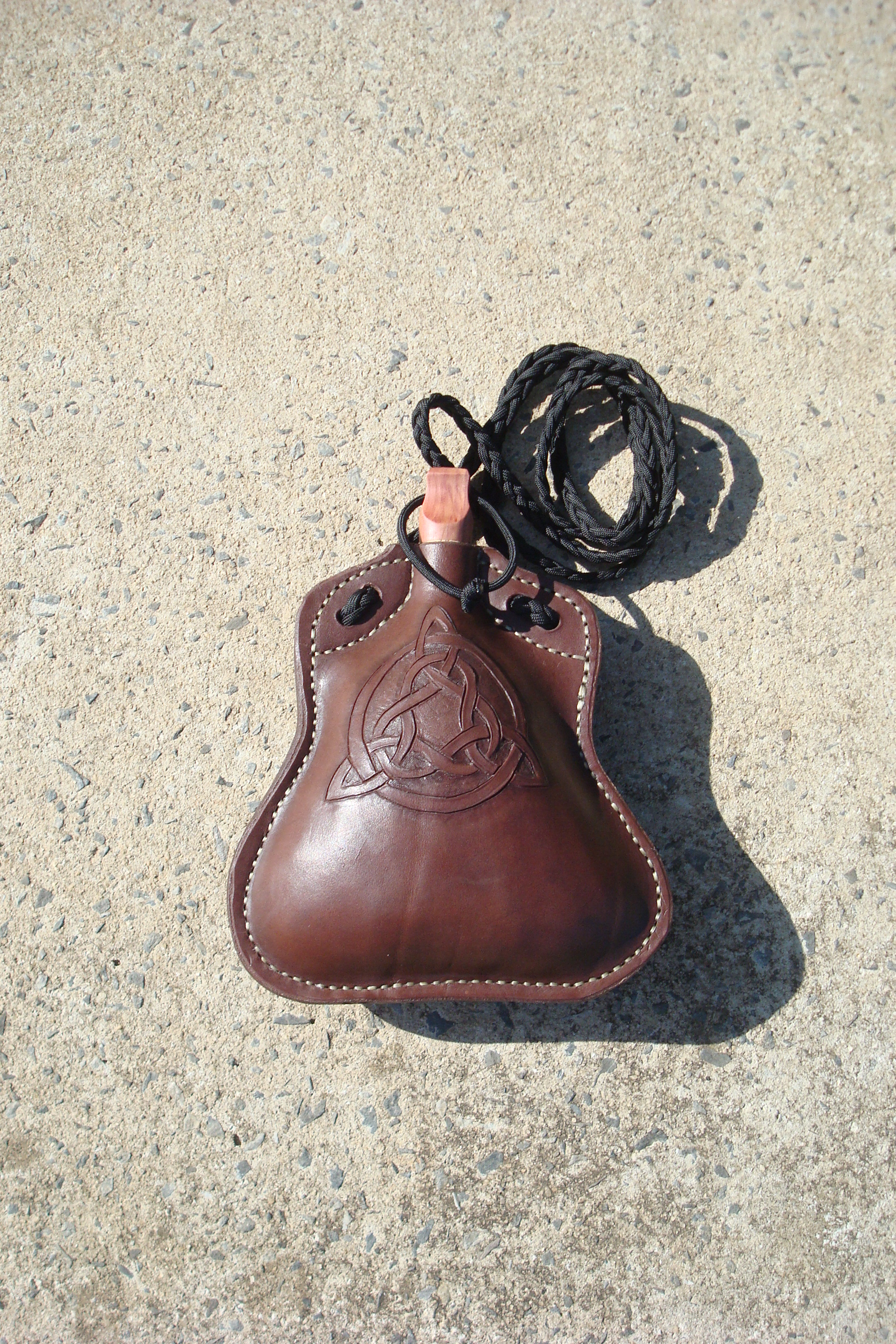 Picture of Leather Flask