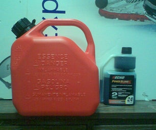 How to Mix 2 Stroke Gas