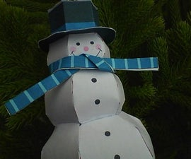 Decorate Christmas Tree with Papercraft