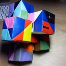 Wired Cubes - the origami cube
