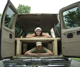 Build a Bed in the Back of your Van