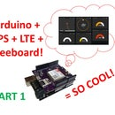LTE Arduino GPS Tracker + IoT Dashboard (Part 1)