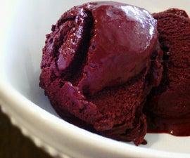 Boysenberry Chocolate Sorbet