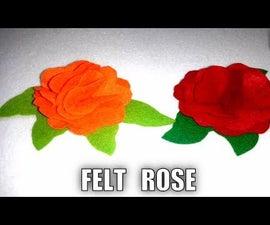 -----   FELT ROSE   ------