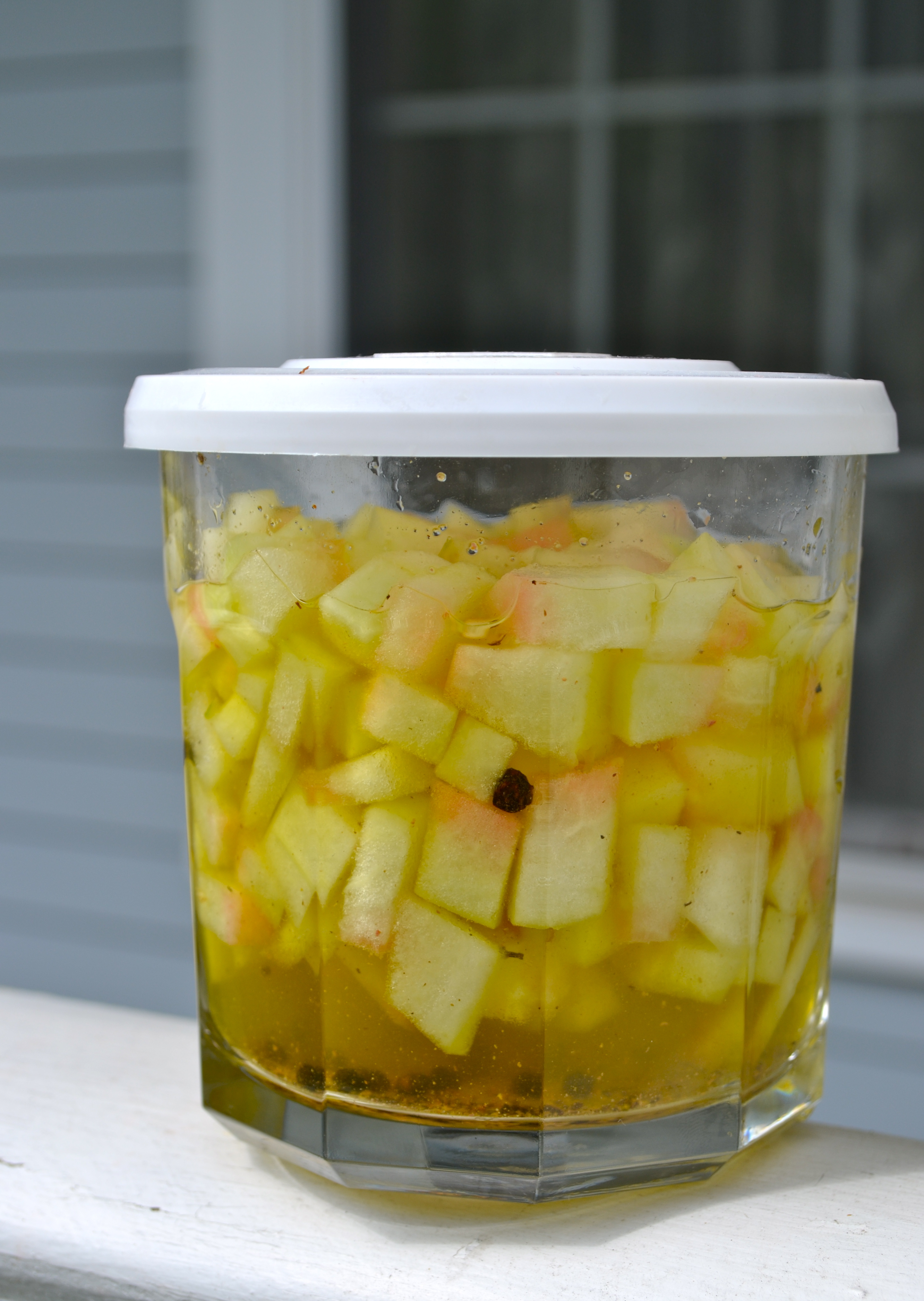 Picture of Quick Pickled Watermelon Rind
