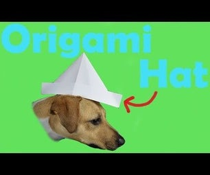 How to Fold an Origami Hat   Traditional