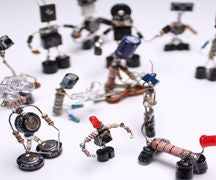Sparebots selfmade electronic waste DIY Project