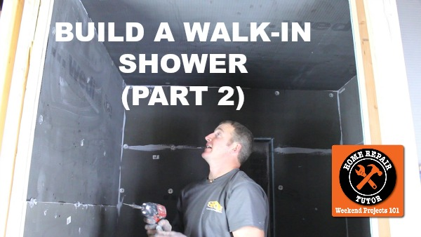 Picture of How to Build a Walk-In Shower (Part 2: Wedi Wall Installation)