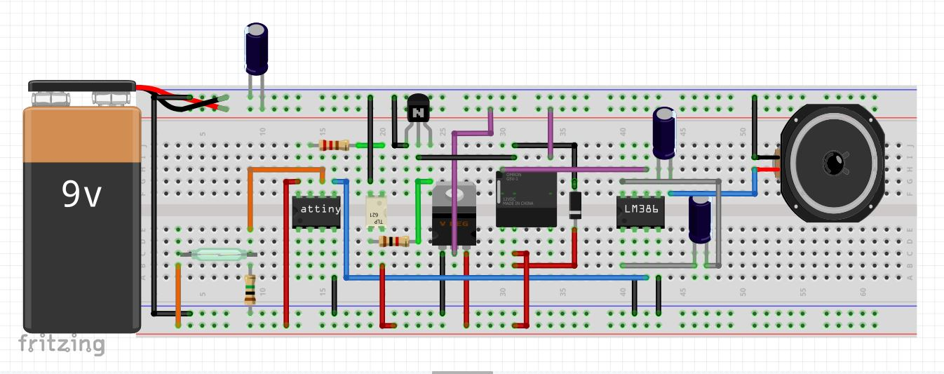 Picture of Breadboard Circuit
