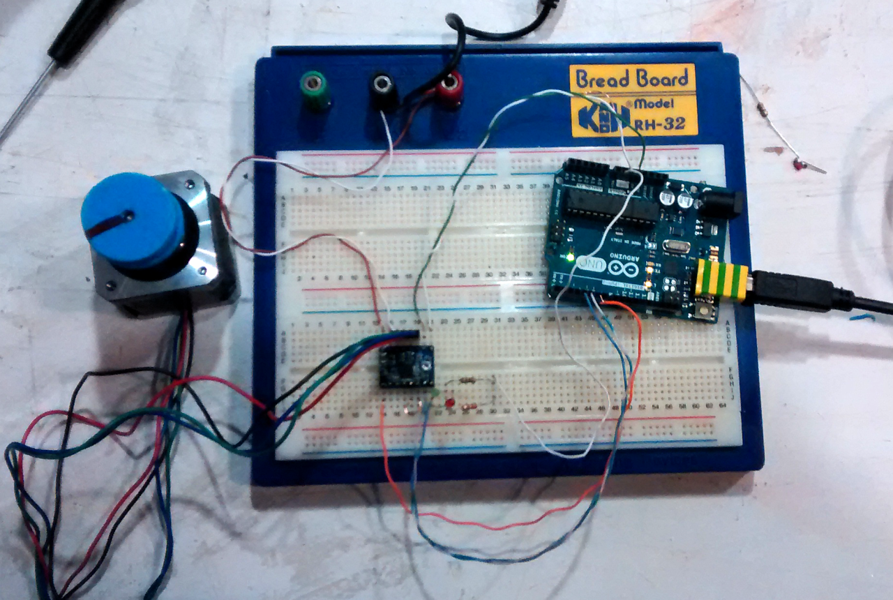 Picture of Wiring Up the StepStick and Arduino