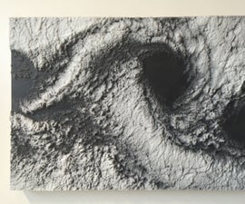 Image Relief in Resin