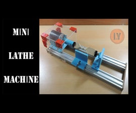 Mini Lathe Machine for Woodworking