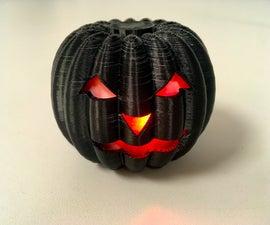 3D Printed Jack-O-lantern