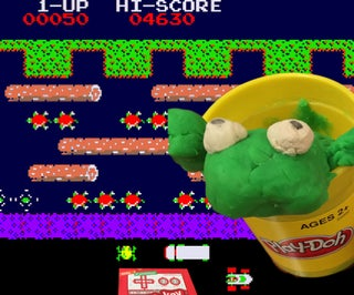 Tangible Frogger