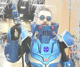 How to build a Batman: Mr. Freeze Costume - 2.0 version