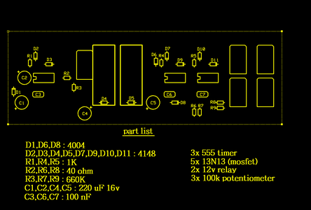 Pcb Layout & Connection Diagram