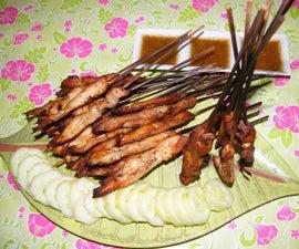 Chicken Satay (Sate Ayam Banjar)