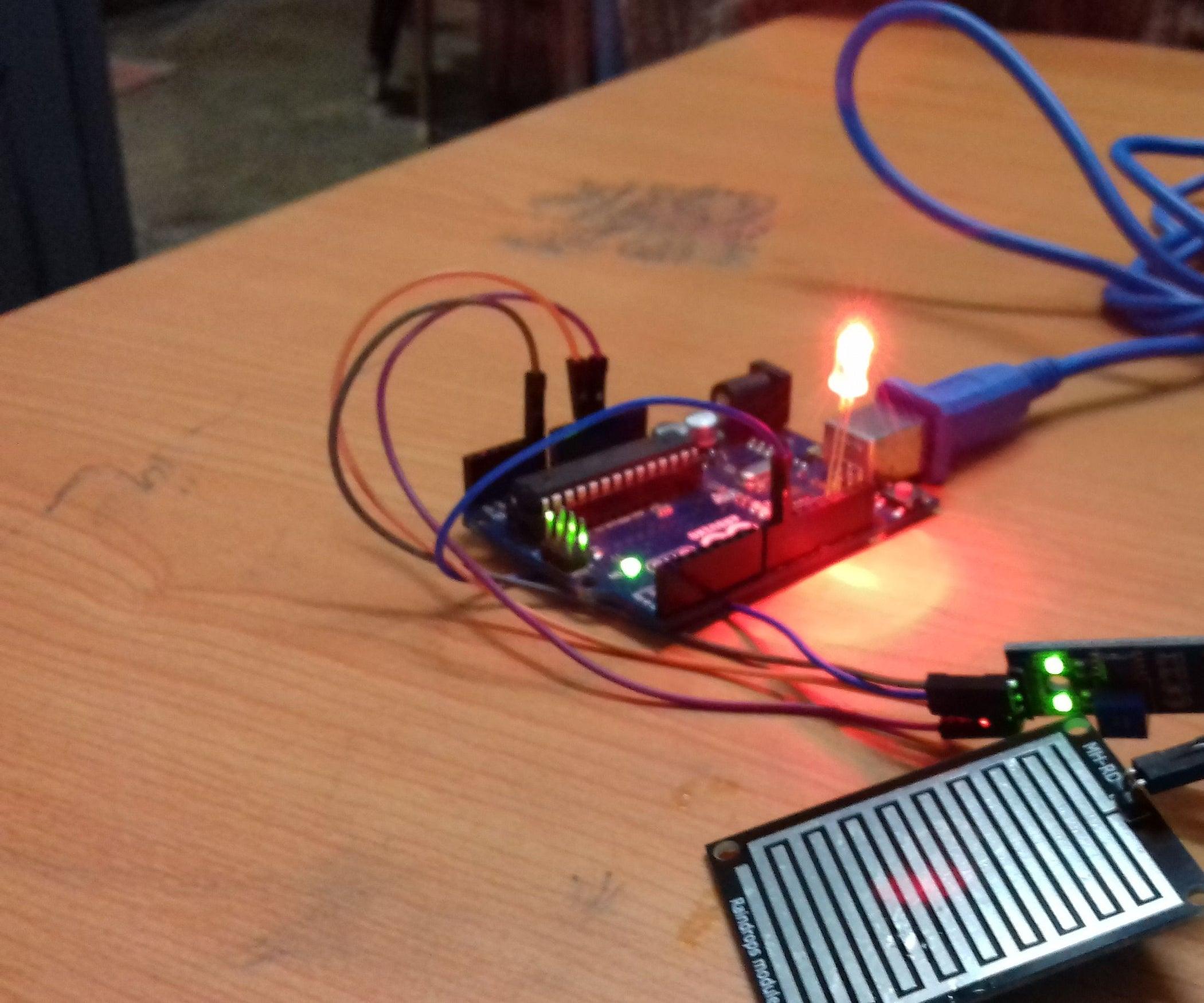 Diy Arduino Rain Detector 5 Steps How To Build