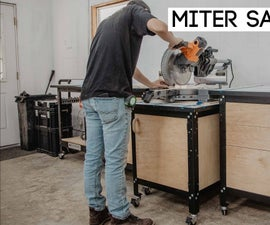 Easy to Build Miter Saw Station