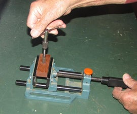 Drilling and tapping hardwoods