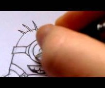 How To Draw A Despicable Me Minion Drawing Video