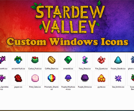 Creating Custom Windows Icons From Stardew Valley Images