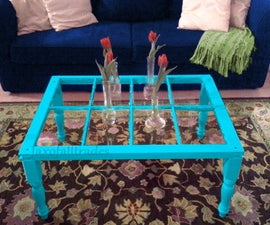 Cottage Window Coffee Table