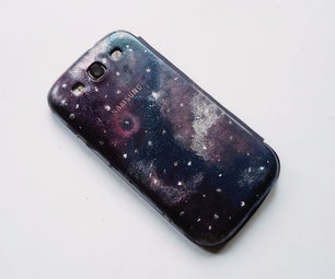 Galaxy Printed Phone Case