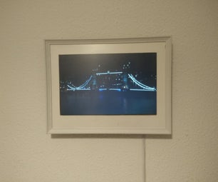Live Picture Frame With Raspberry PI