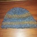 Stitched brim hat