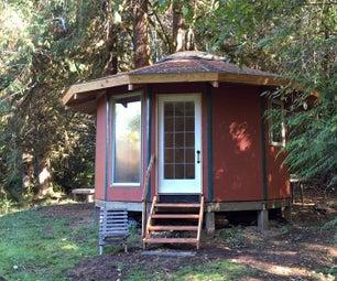 Building a Wood-Framed Panelized Yurt