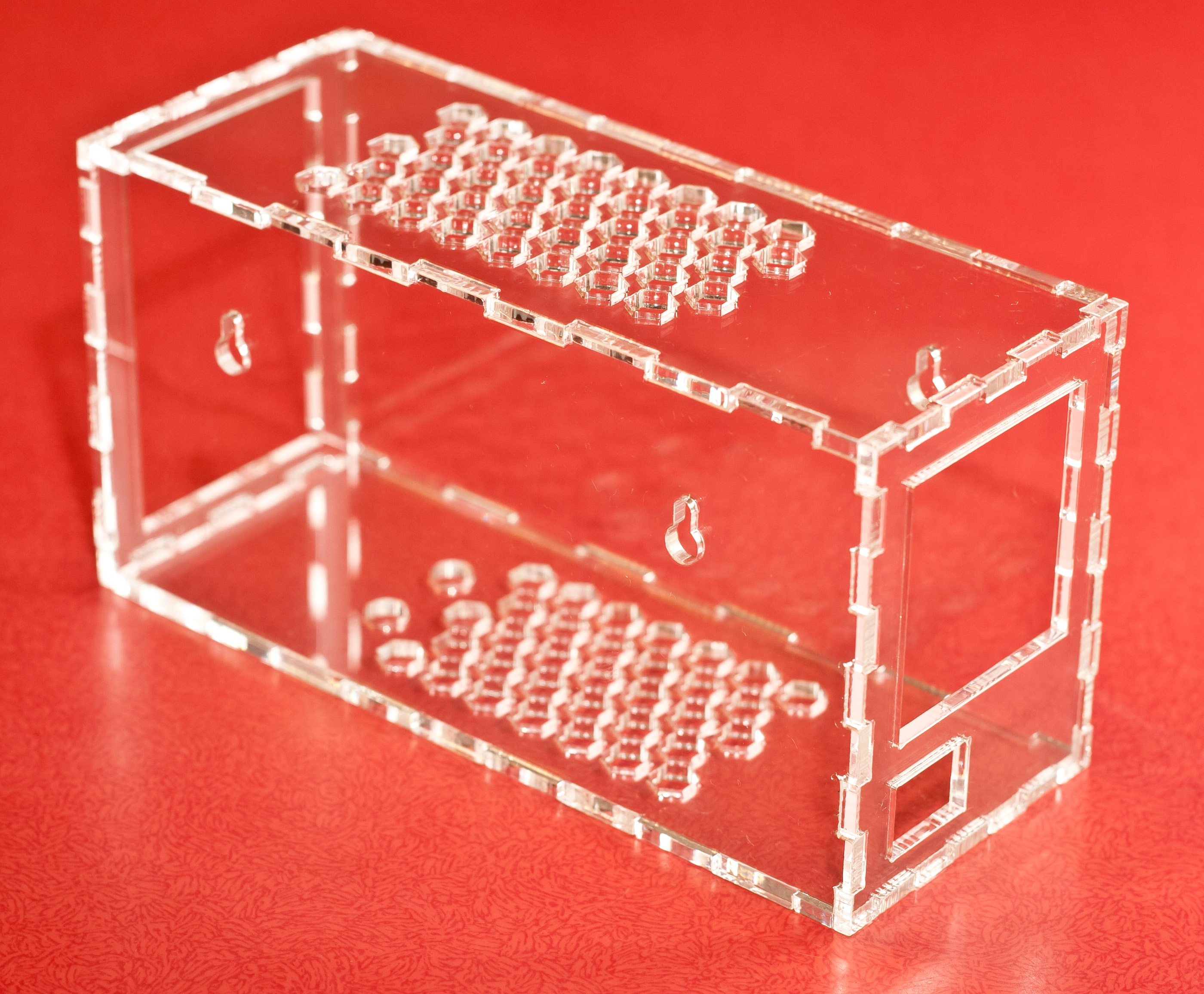Picture of Snap-fit Plexiglas Case for Your Project