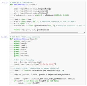 Initialization 4: Functions to Handling Sensors