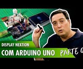 Display Nextion With Arduino Uno