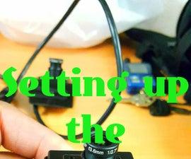 Setting up the ELP-IP1881 Camera