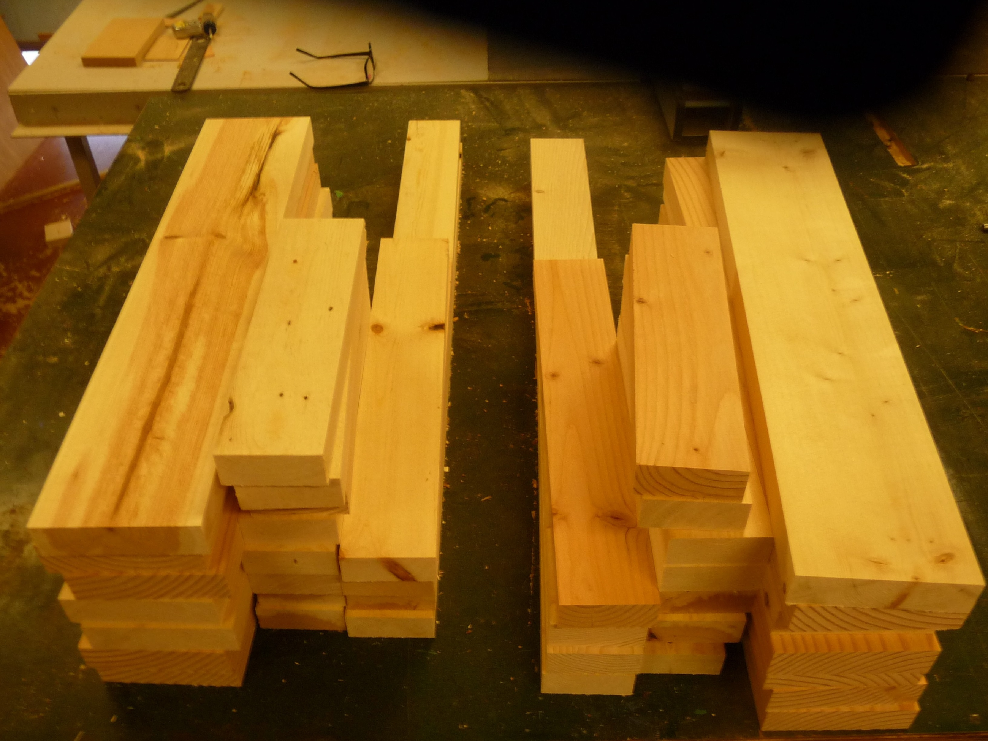 Picture of Cut and Mill Lumber to Final Dimensions