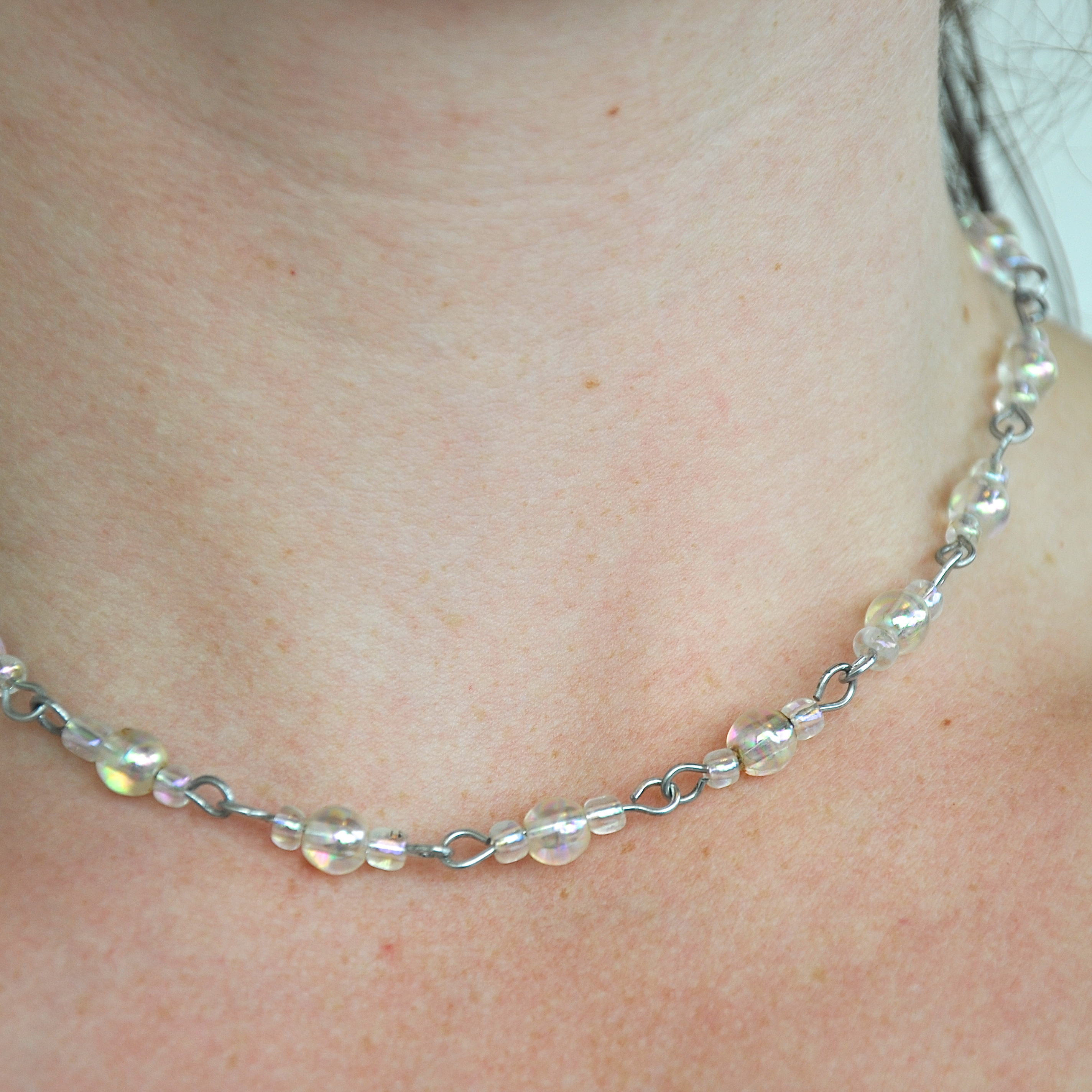 Picture of Simple Paperclip Necklace