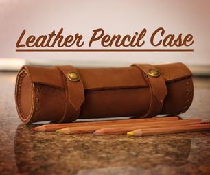 Leather Pencil Case