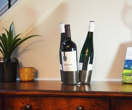 3D Printed Wine Bottle Carousel
