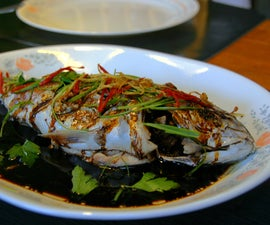 Chinese Style Steamed Fish