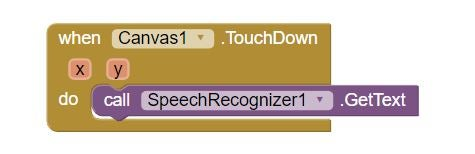 Starting Voice Recognition Manually