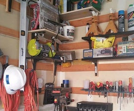 Organize your workshop with low cost modular shelving (AKA the French Cleat).