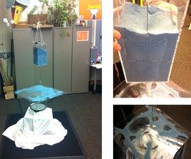 Craft Cymatics: A sensing sand dispenser and vibrating sound plate